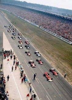 Start, Hockenheim 1970
