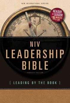 Reader to Leader in just 15 minutes a day. Learn from both ancient and contemporary experts in leadership theory in the NIV Leadership Bible. Offering 52 weeks of practical studies on everyday leaders