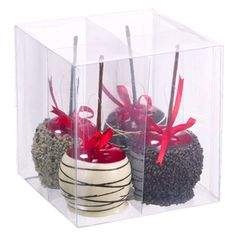6.5'Lx6.5'Wx6.5'H Artificial Box Of Assorted Candy Apple -Assorted (pack of 6) *** Details can be found by clicking on the image.