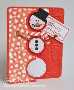 The Dining Room Drawers: Sizzix Triple Circle Flip-Its Cards