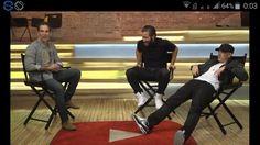 Toujours à faire le con @Eminem...  #Southpaw #LaRageAuVentre #JakeGyllenhaal #interview