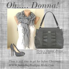 """Miche's Classy ""Donna Prima Shell- makes every statement an ""ohhhhh"""" by matlgal on Polyvore"