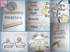 Even MORE Science Interactive Notebook Activities $