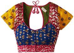 Choli Designs, Sari Blouse Designs, Saree Blouse Patterns, Blouse Styles, Stylish Blouse Design, Indian Blouse, Work Blouse, Churidar, Kurti