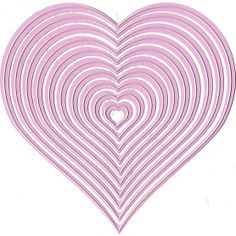 Marianne Design Nellie's Choice Multi Frame Dies Heart, , hi-res $14.50