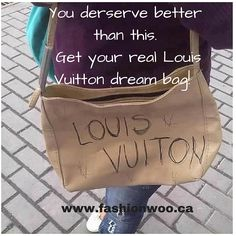 Fashionwoo posted on instagram. follow us @fashionwoo.ca  #fashionwoo #funny #louisvuitton #authentic #preowned Real Louis Vuitton, Best Instagram Posts, Funny, Women, Fashion, Moda, Fashion Styles, Funny Parenting, Fashion Illustrations