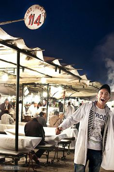 The food stalls of Marrakech - a culture in their own right!