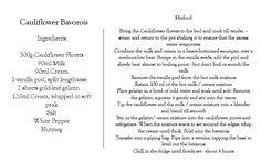 Read the full recipe here - http://blog.relaischateauxafrica.com/cauliflower-bavarois-a-recipe-from-ellerman-house/