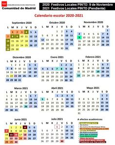 Calendario Escolar 2020-2021 Ulzzang Girl, Periodic Table, Bullet Journal, School Calendar, Teachers' Day, Calendar, Preschool, Vacations, School