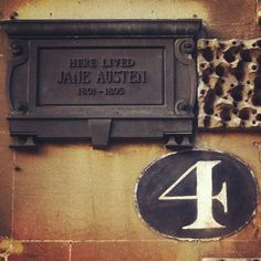 wildabouttheworld:      Jane Austen lived here - #4 Sydney House in Bath, UK