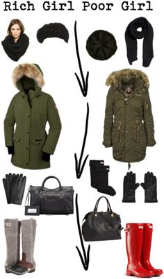 Rich Girl/Poor Girl Outerwear Edition