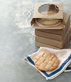 Cinnamon-Sugar Lattice Cookies