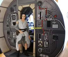 Millennium Falcon Model, Alien Spaceship, Star Wars Party, Starcraft, Paper Models, The Republic, Battleship, Cosmos, Star Trek