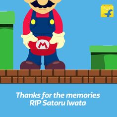 Photo: Countless childhoods wouldn't have been as fun without #Nintendo. Thanks for the magic Satoru Iwata. #RIP
