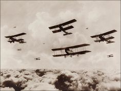 WWI,  Aircraft Formation
