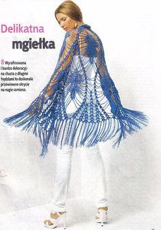 ergahandmade: Crochet Shawl + Diagrams