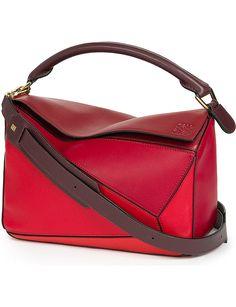 e02b5f212d LOEWE Puzzle leather shoulder bag