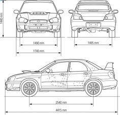 Subaru Impreza WRX STi blueprints, vector drawings, clipart and pdf templates Subaru Impreza Sti, Wrx Sti, Wrx Wagon, Pinewood Derby Cars, Rally Car, Cool Cars, Car Birthday, Birthday Stuff, Birthday Cakes