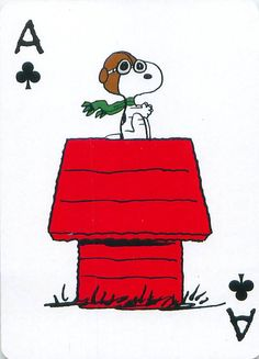 Snoopy and the Red Baron Charlie Brown Y Snoopy, Charlie Brown Christmas, Snoopy Comics, Peanuts Cartoon, Peanuts Snoopy, Peanuts Characters, Cartoon Characters, Snoopy Und Woodstock, Deck Of Cards