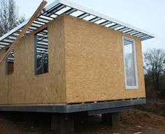 Imagem relacionada Steel Framing, Wood Steel, Outdoor Gear, Tent, House Plans, Shed, Exterior, Outdoor Structures, House Design