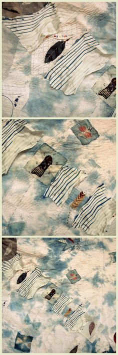 Spirit Cloth by Jude Hill - Stitching a Story - Very Cool Cloth Making & repairs