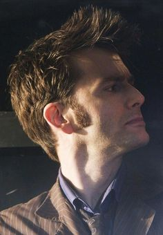 David Tennant Photo Of The Day - 16th August 2014:  As the Tenth Doctor in 'Planet Of The Dead' - April 2009