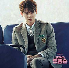 Bo-Young Park, Hyung-shik Park, and Ji Soo in Him-ssen yeo-ja Do Bong-soon Park Hyung Sik, Joon Gi, Lee Joon, Strong Girls, Strong Women, Kdrama, Ahn Min Hyuk, Strong Woman Do Bong Soon, Moonlight Drawn By Clouds
