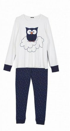 pigiami-donna-tezenis-inverno-2014-gufo 749f5dc2d3e
