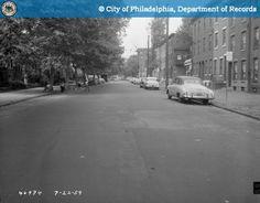 Corinthian Avenue & Parrish Streets Looking North -1959