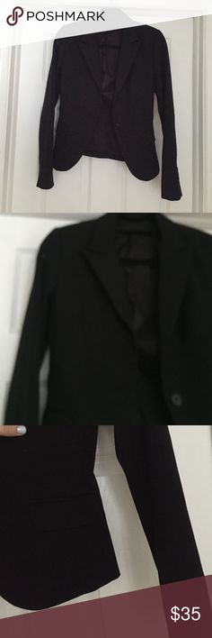 Express Black Women's Suit Jacket Good quality woman's suit jacket! Express Jackets & Coats Blazers
