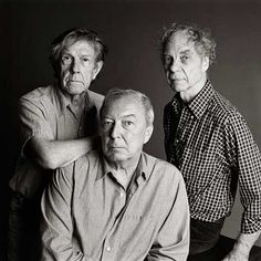 John Cage, Jasper Johns and Merce Cunningham by Timothy Greenfield-Sanders. In the fall of 1939, Merce Cunningham moved to New York and began a six-year stint as a soloist in the company of Martha Graham. He presented his first solo concert in New York in April 1944 with composer John Cage, who became his life partner and frequent collaborator until Cage's death in 1992.