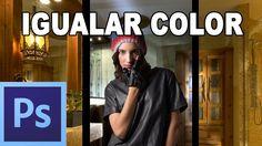 Igualar colores de dos imágenes - Tutorial Photoshop en Español por @pri...