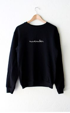 November Sweater