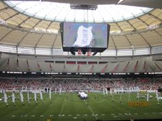 First Game BC Place