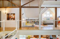 The Upstairs Shows Clearly How The Home Used To Be A Carriage House On Design*Sponge
