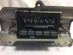 Ford Galaxie LTD Factory Original AM Radio Vintage Radio 1978 - 6 MONTH WARRANTY