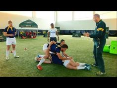 Structure in the breakdown for player safety Rugby Time, Rugby Drills, Rugby Training, Sports News, Safety, Youtube, Nice Asses, Security Guard, Rugby Workout