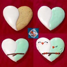 #sweet #cookiesdecorados #loved #galletas #birds #pajaritos