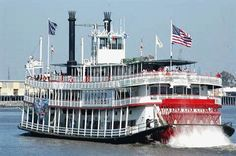 New Orleans River Boat -- Natchez