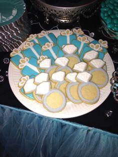 Breakfast at Tiffany's cookies!