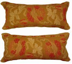 19th Century American Needlepoint Pillows -$1100.