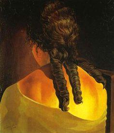 Espalda de muchacha (1926).- Dalí