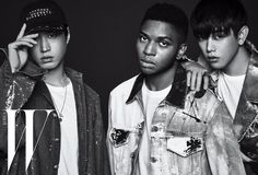 Fashion and style magazine W shared Tuesday a recent photo shoot with singer Eric Nam, rapper Tablo and American singer-songwriter Gallant. Korean Fashion School, Tarantino Films, Eric Nam, Donald Glover, Mnet Asian Music Awards, K Pop Star, Korean Entertainment, Korean Star, Asian American