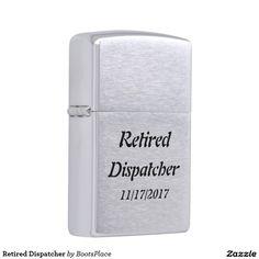 Retired Dispatcher Zippo Lighter
