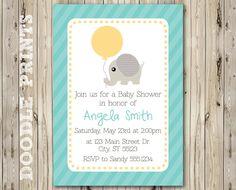 Printable Baby Boy Shower Invitation Baby by doodleprints on Etsy. $8.00, via Etsy.