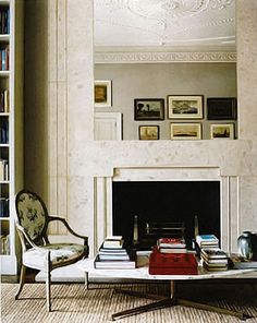 French meets Knoll... Inspiration for my living room. by Designer Veere Grenney via Canadian House & Home.