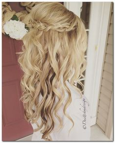 Wedding Hairstyles Half Up and Half Down: How To and 100+ Photos