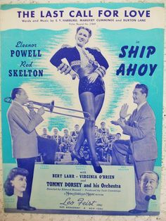 Vintage 1942 Sheet Music The Last Call For by DaysofYoreTreasures