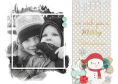 ScrapSimple Digital Layout Templates: Berry Kissmas Cards