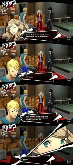 Jesus christ Ryuji. Chill the fuck out. [Persona 5]